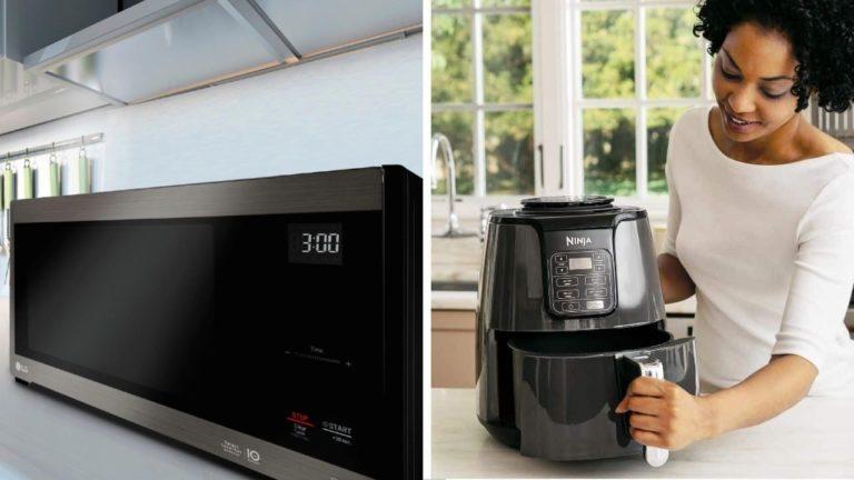 microwave vs air fryer