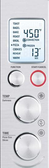 breville bov800xl controls