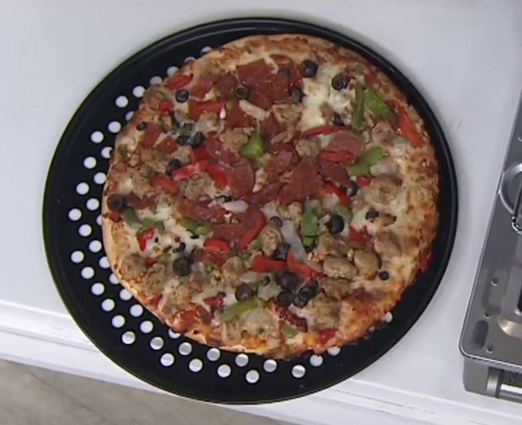 breville bov845 pizza