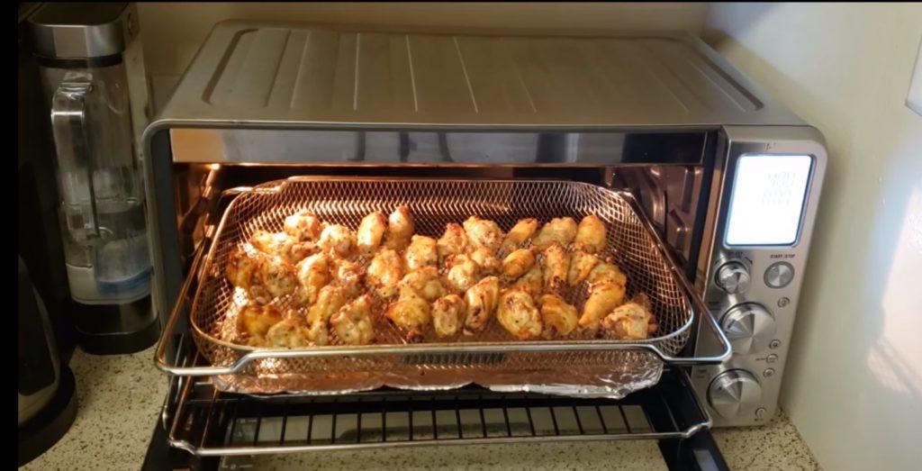 breville bov900bss chicken wings
