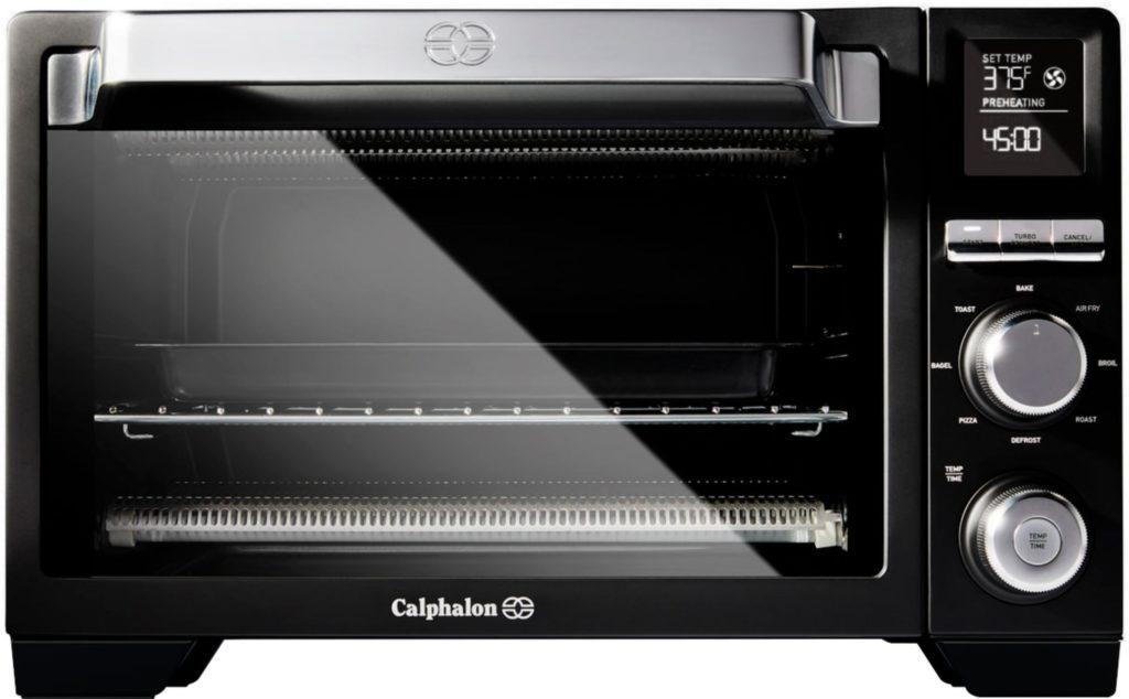 calphalon precision air fryer convection oven front