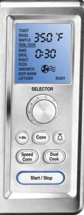 cuisinart tob260n1 controls
