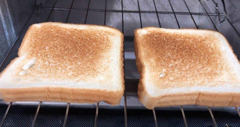 Panasonic FlashXpress toast
