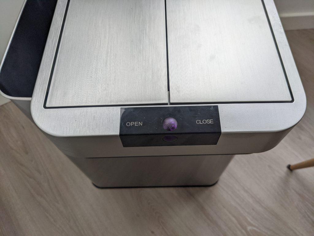 homelabs trashcan controls