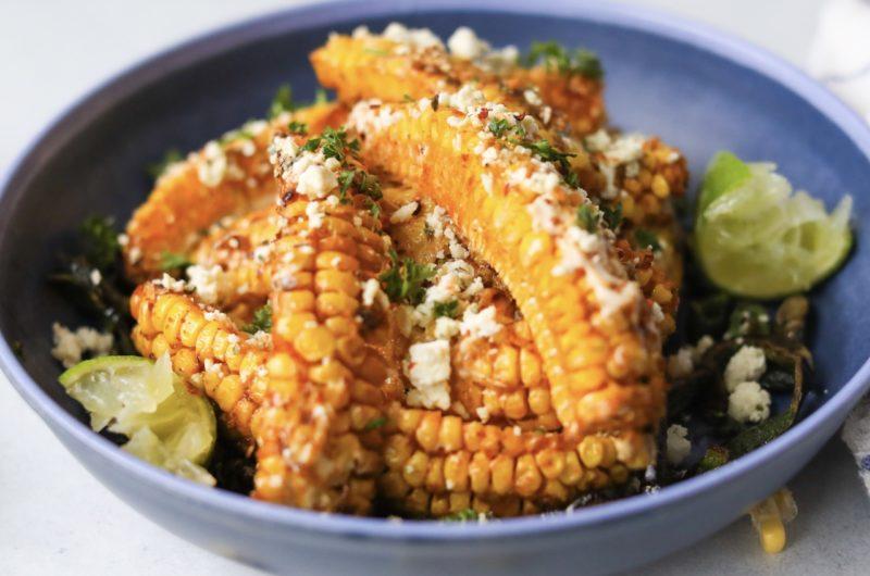 Air Fryer Corn Cob Ribs recipe